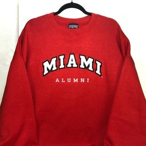 VTG Miami University Ohio Jansport sweatshirt XXL